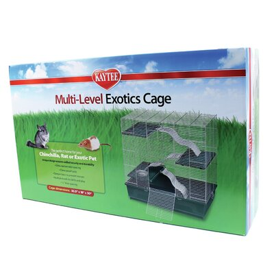 Super Pet Kaytee Multi-Level Small Exotic Animal Cage