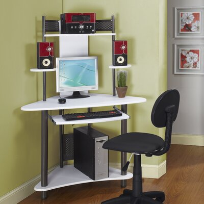 InRoom Designs Kids Corner Desk and Computer Chair Set | Wayfair