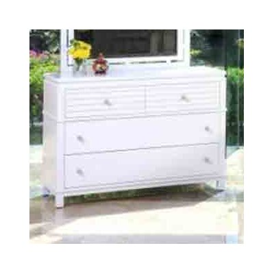 InRoom Designs Cabo 4 Drawer Dresser