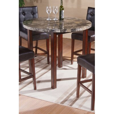 InRoom Designs 5 Piece Counter Height Dining Set