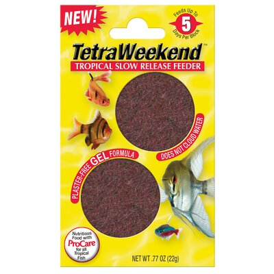 Tetra 5 Day Gel Fish Feeder