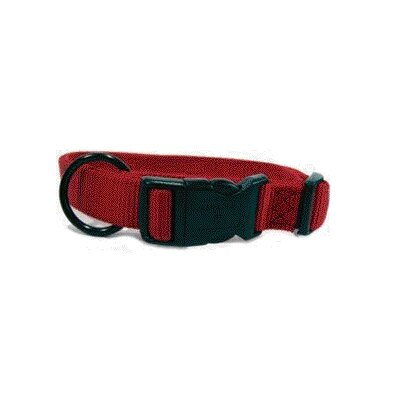 Hamilton Pet Products Adjustable Dog Collar in Red