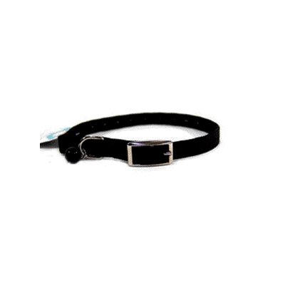 Braided Safety Cat Collar in Black
