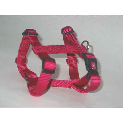 Hamilton Pet Products Adjustable Dog Harness in Pink