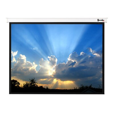 "Recordex Magnifica Electric Screen Video (4:3) Format with IR Remote - 180"" Diagonal"