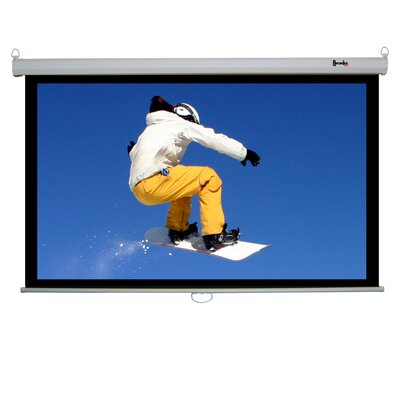 "Recordex 120"" Clarity Electric Screen 16:9 Matte in White"