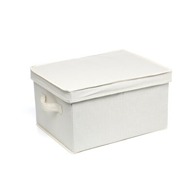 "<strong>Household Essentials</strong> Storage and Organization 8"" Large Storage Box"