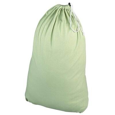 Household Essentials Jersey Bag in Sage Green