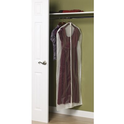 Household Essentials Storage and Organization Dress Protector in Natural