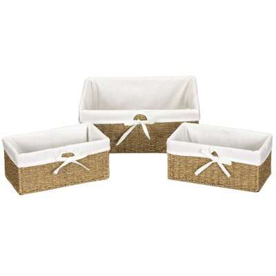 Seagrass Large Utility Basket (Set of 3)