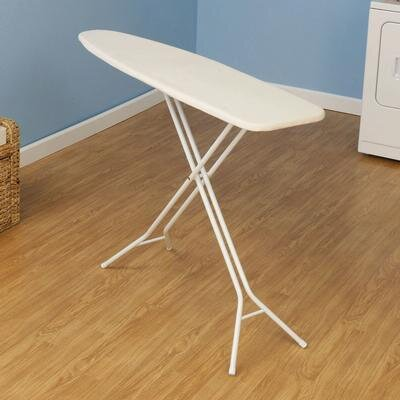 Household Essentials Four Leg Ironing Board in White
