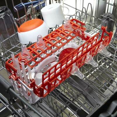 OXO Tot Dishwasher Basket in Orange