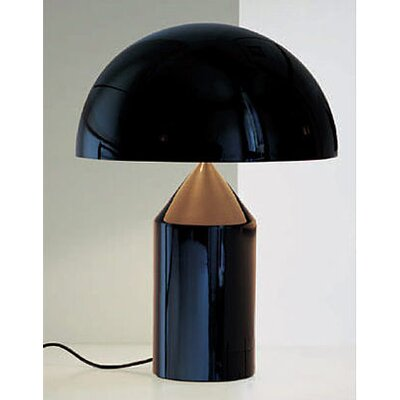 "Oluce Atollo 27.58"" H Table Lamp with Bowl Shade"