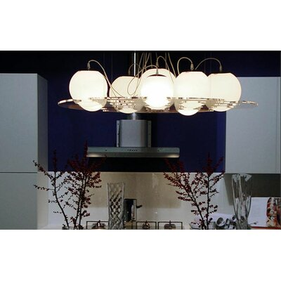 "Oluce Plateau 47.2"" Suspension Lamp"