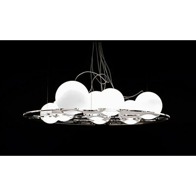 "Oluce Plateau 74.8"" Suspension Lamp"
