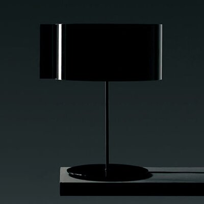 "Oluce Switch 21.6"" H Table Lamp with Oval Shade"