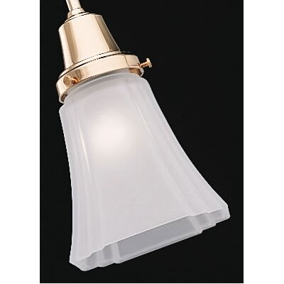 "Casablanca Fan 2.25"" Frosted Deco Glass Shade"