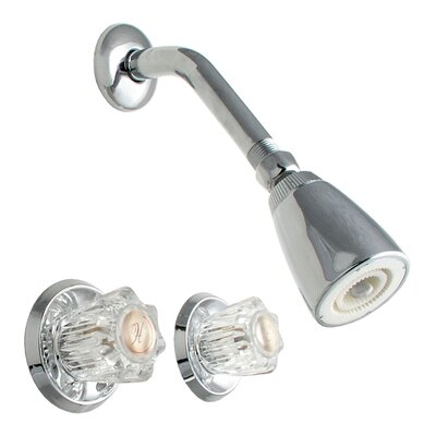 LDR Thermostatic Two Handle Shower Faucet