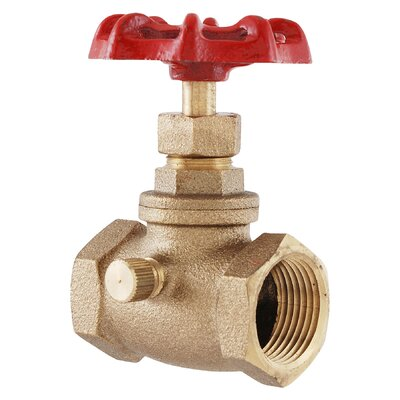 "LDR 3/4"" Ground Key Stop and Waste Valve"