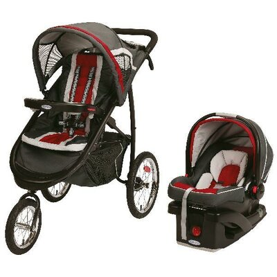 Graco FastAction Fold Click Connect Jogger Travel System