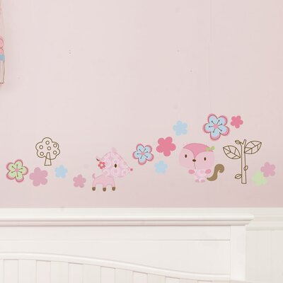 Graco Girl Woodland Wall Decal (Set of 4)