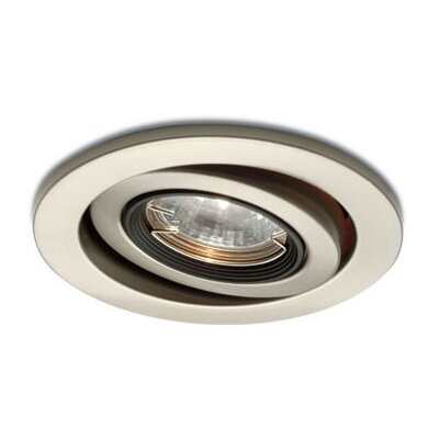 "WAC Lighting Low Voltage Gimbal Ring 4"" Recessed Kit"