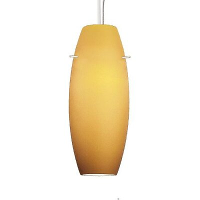 WAC Lighting Contemporary Bongo 1 Light Pendant