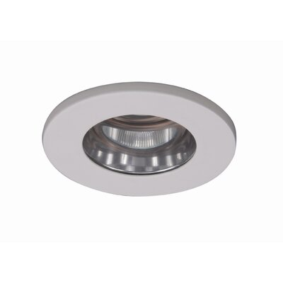 WAC Low Voltage Flat Glass Shower Light in White