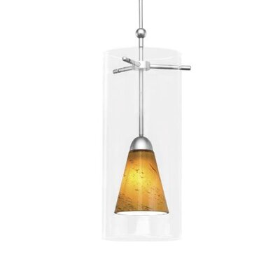 WAC Lighting Contemporary Konic Quick Connect Shade Pendant