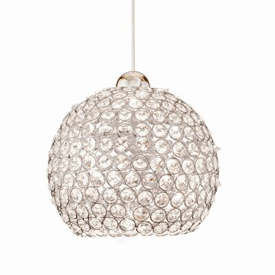 Crystal Roxy LEDme Quick Connect 1 Light Monopoint Pendant