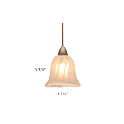 European 1 Light Florentine Pendant with LED503 Socket Sets
