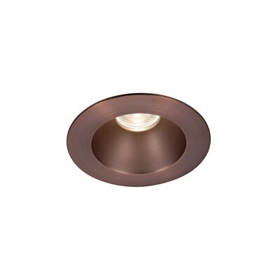 "WAC Lighting LED 3"" Recessed Downlight Open Round Trim with 28 Degree Beam Angle"