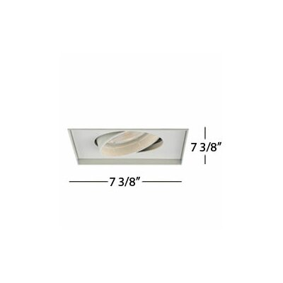 WAC Lighting Low Voltage Recessed Downlight with Multi Spot Trim for MT130Mh