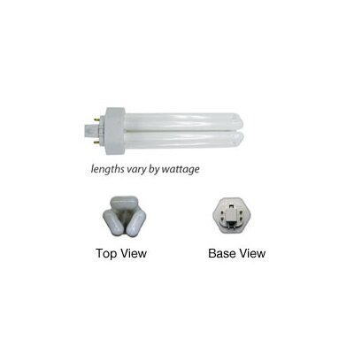 WAC Lighting Tri-Tube 4-Pin CFL Lamp