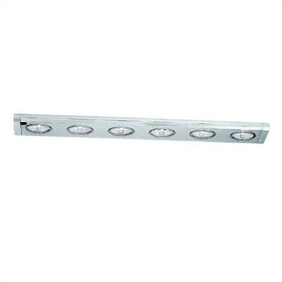 WAC Lighting Low Voltage Six Light Under Cabinet Xenon Light Strip