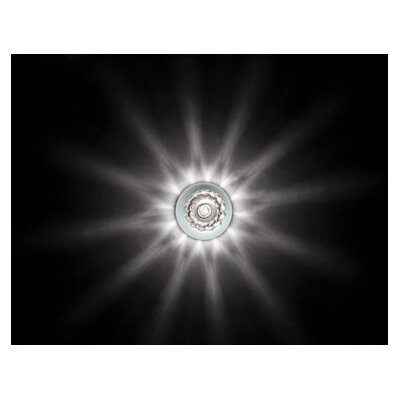 WAC Lighting Beauty Spot Round Cut Crystal Accent Shade in Clear