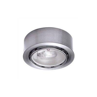 wac lighting low voltage under cabinet round puck recessed light. Black Bedroom Furniture Sets. Home Design Ideas