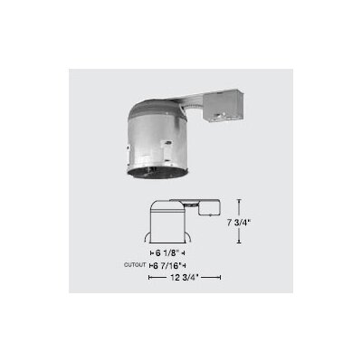 "WAC Lighting 6"" Line Voltage IC Remodel Housing"