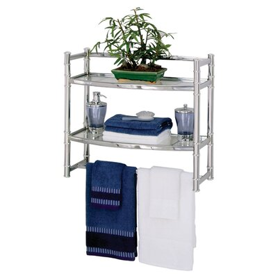 "Zenith Products 21"" x 18.75"" Wall Mounted Shelf"
