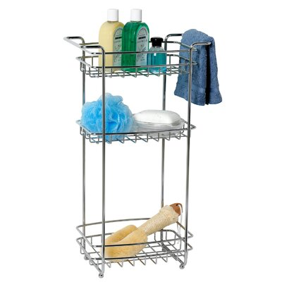 "Zenith Products 12.5"" x 22"" Bathroom Shelf"