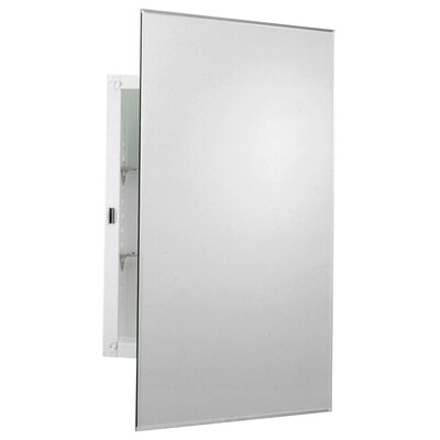 Zenith Arched Beveled Swing Door Medicine Cabinet