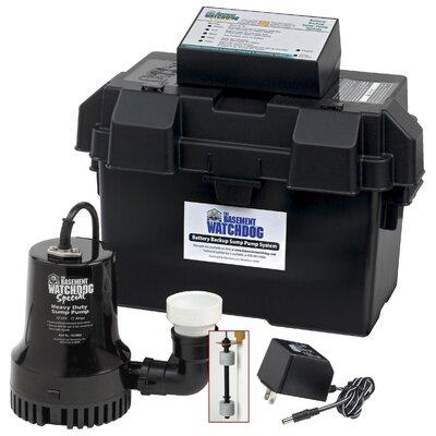 basement watchdog battery backup sump pump system reviews wayfair