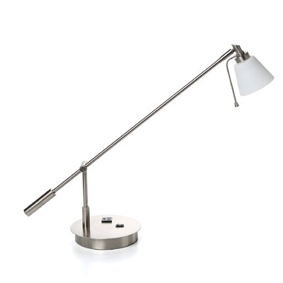 "George Kovacs by Minka George's 21.5"" H Reading Room Table Lamp"