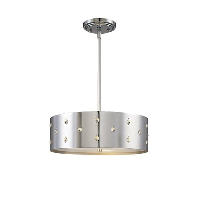 George Kovacs by Minka Bling Bling 3 Light Drum Pendant