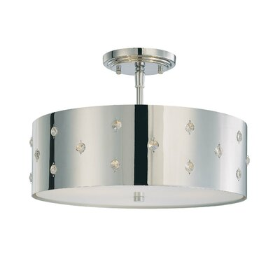 George Kovacs by Minka Bling Bling 3 Light Semi-Flush Mount
