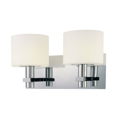"George Kovacs by Minka 7.5"" Vanity Light in Chrome"