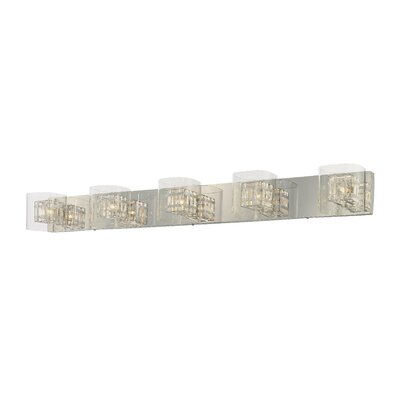 George Kovacs by Minka 5 Light Bath Vanity Light