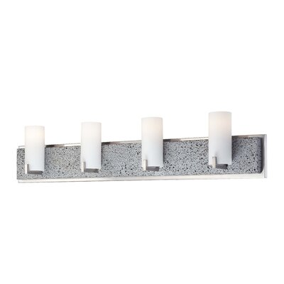 George Kovacs Lava Tube 4 Light Bath Vanity Light