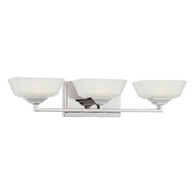 George Kovacs by Minka Clean 3 Light Bath Vanity Light