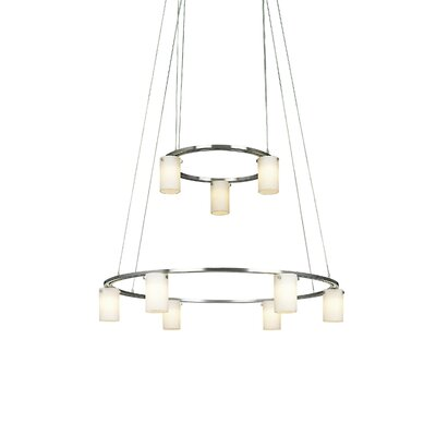 George Kovacs by Minka Counter Weights 9 Light Low Voltage Chandelier